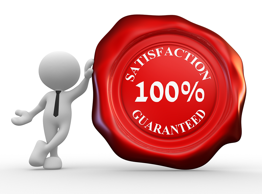 InterviewFocus offers a 100% satisfaction guarantee